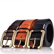 Italian Oil Tanned Cowhide Belt