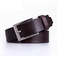 Full Men's Grain Leather Belt